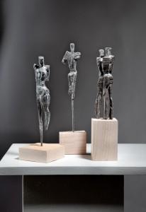 Bronze Skulpturen Gruppe