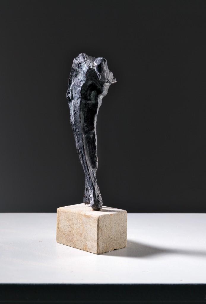 Schwerer Gang - Bronze - Hans-Georg Wagner